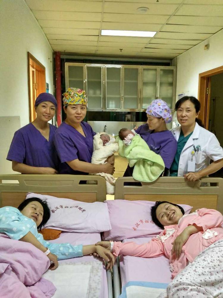 【图片新闻】双胞胎姐妹同时怀孕同天顺产 娃都是6.6斤 - 耄耋顽童 - 耄耋顽童博客 欢迎光临指导