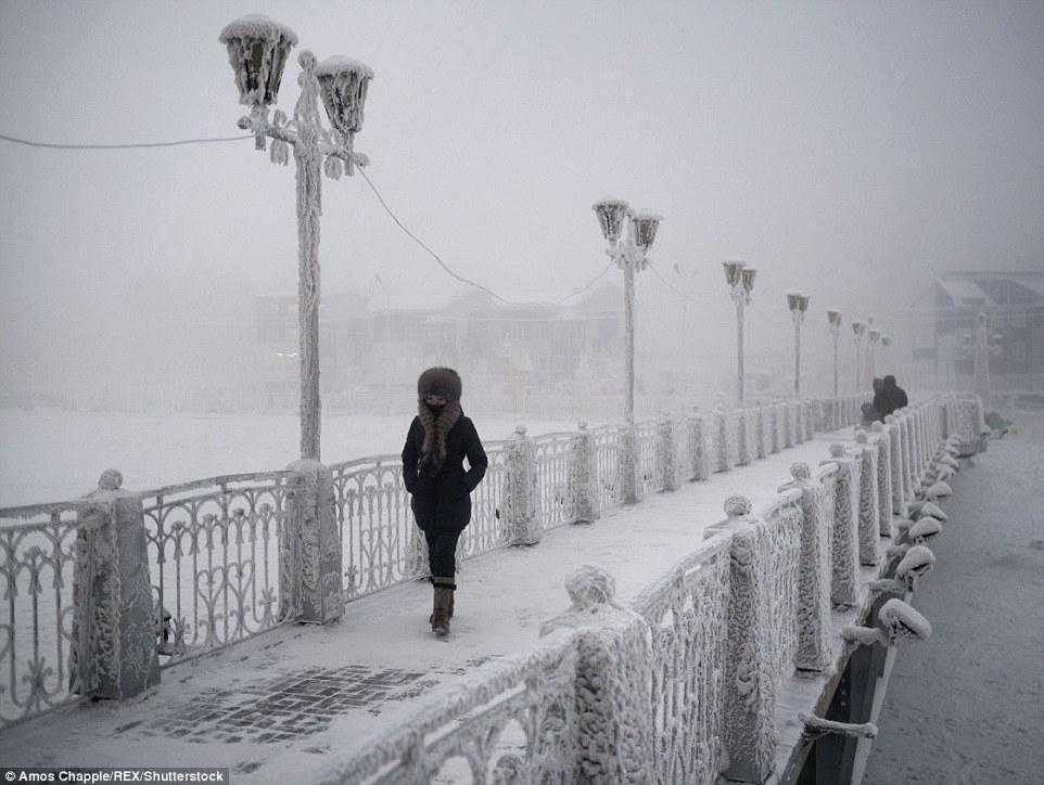 【图片新闻】世界最寒冷小镇:低温达-68度 仅500位居民 - 耄耋顽童 - 耄耋顽童博客 欢迎光临指导