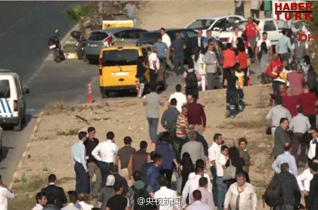 土耳其安塔利亚发生爆炸 大量救护车赶往现场(图)