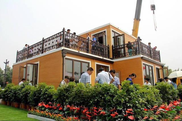 3小时内就完工的一栋两层别墅 或许这就是人类的未来 - 海阔山遥 - .