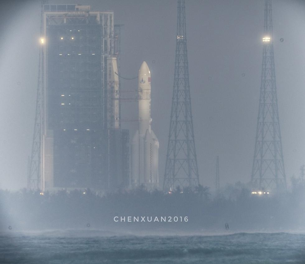 中国第一枚大型运载火箭长征5号升空2016.11.4 - fpdlgswmx - fpdlgswmx的博客
