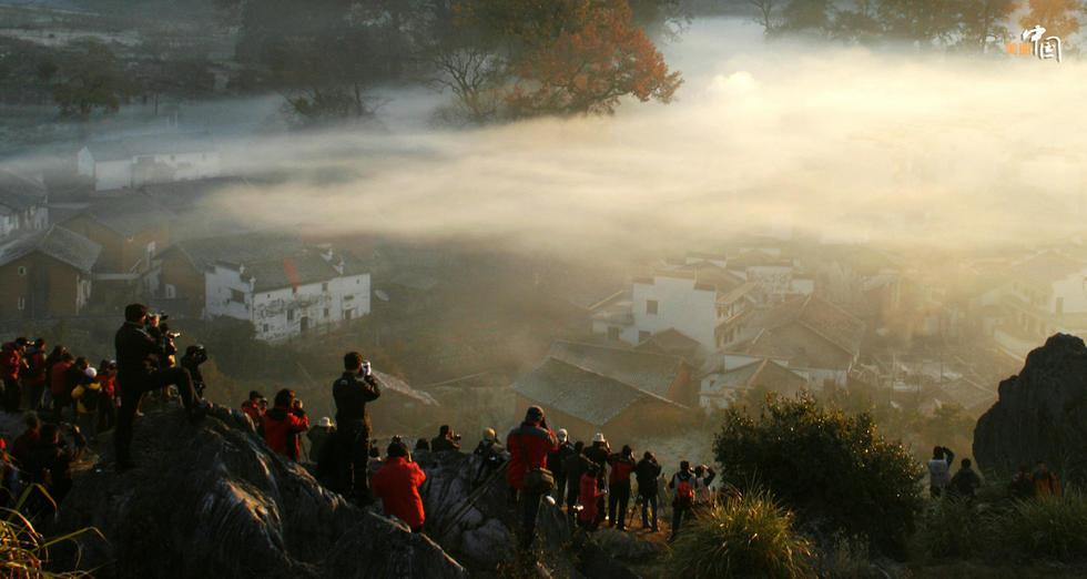 【大美中国】婺源石城枫正浓 - 海阔山遥 - .