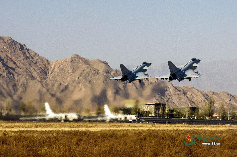 组图:空军搞场演习 集结兵力足够荡平一小国 - 海阔山遥 - .