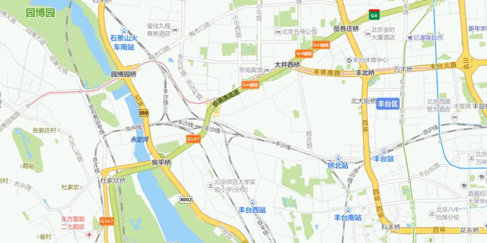 北京地铁14号线路线图.-北京地铁14号线信号故障 金台路人满为患图片