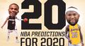 2020年NBA是什么样? 阿杜超詹皇+勇士三连冠