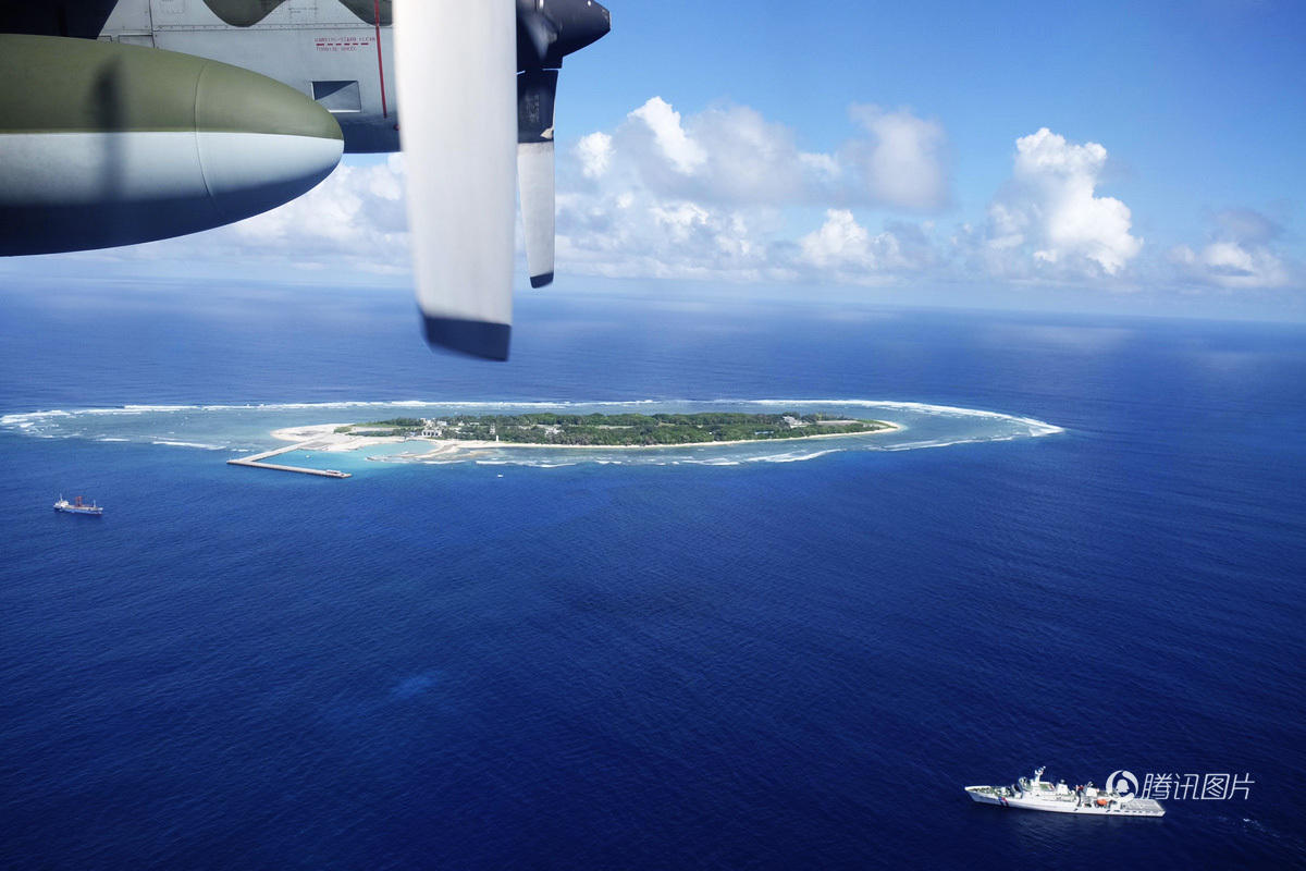 蔡英文上台后 台军首次在太平岛联合操演