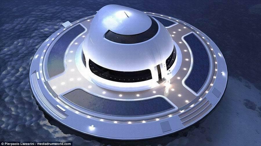 外星人驾驶UFO访问地球?太像了(高清组图)
