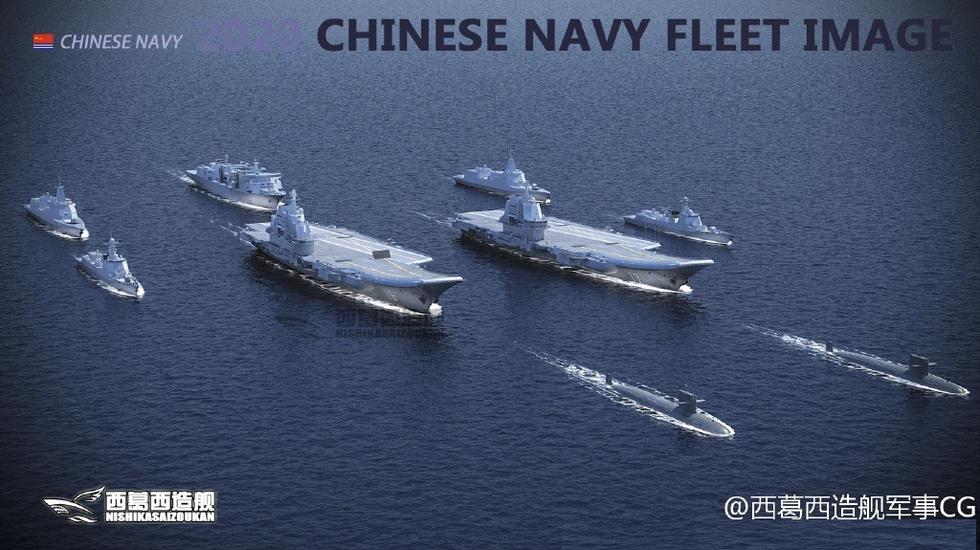 组图:2020年中国将有亚洲最强航母编队