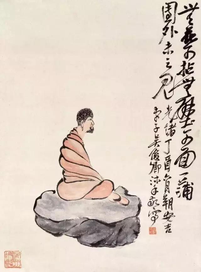 画家吴昌硕作品欣赏图片