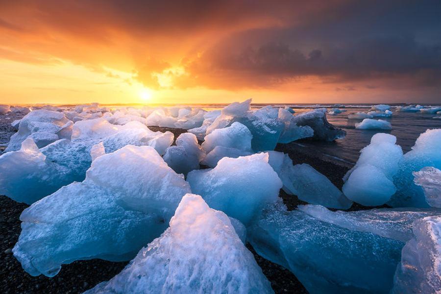 那些惊艳到你的落日瞬间 - 海阔山遥 - .