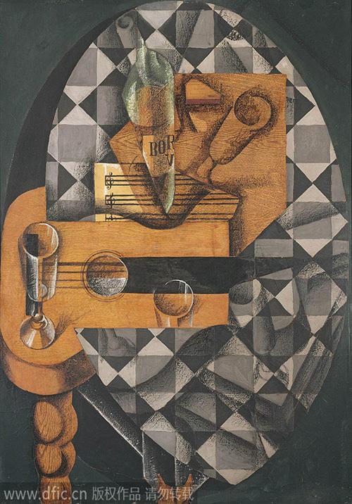 抽象画诠释几何艺术