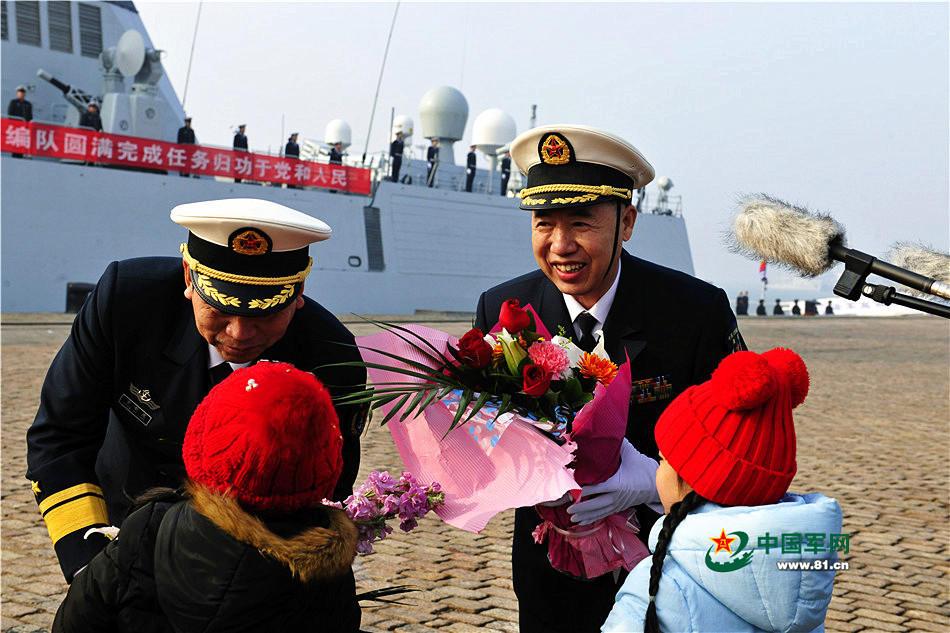 """被日本说是""""绕日航行""""的中国舰队回家2017.1.16 - fpdlgswmx - fpdlgswmx的博客"""