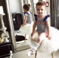澳两岁模特将亮相纽约时装周