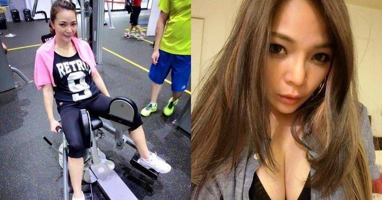 女星甩肉28公斤变健身超模 俯身狂秀事业线