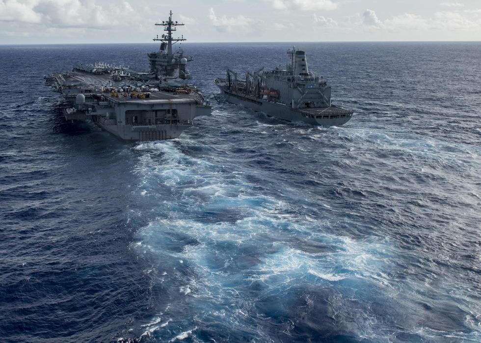 组图:美航母靠它才能驰骋全球 仅中美两国能造 - 海阔山遥 - .