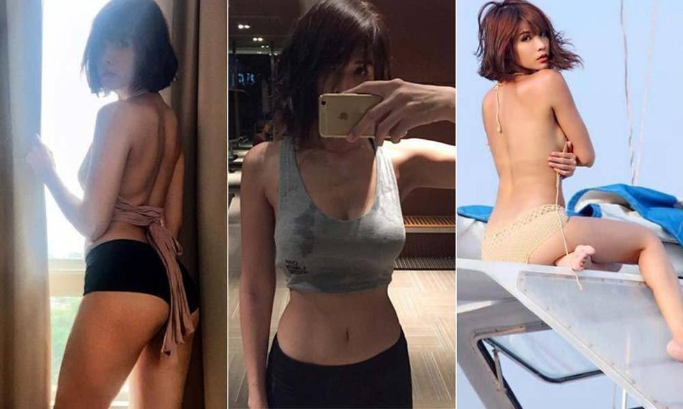 泰国健身女神泳装秀美背 网友:不淡定了!