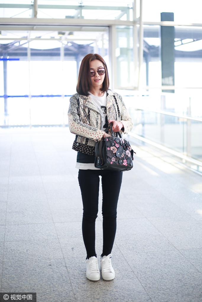 又瘦又美又时髦的蔡卓妍