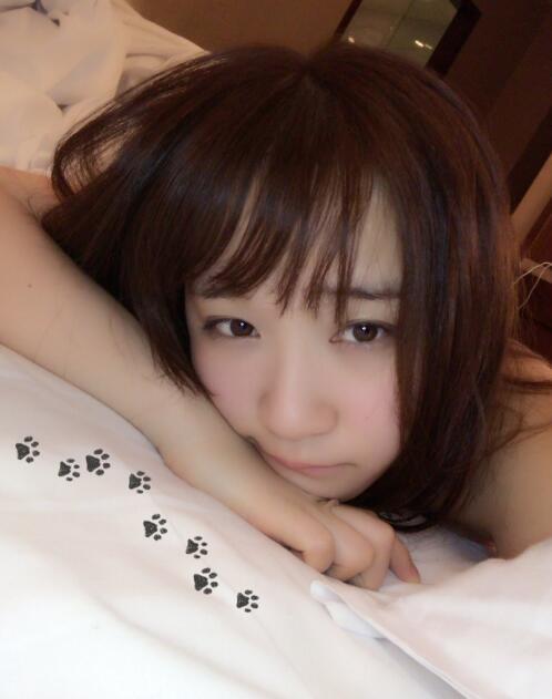 日本coser伊织萌台湾漫展后床照