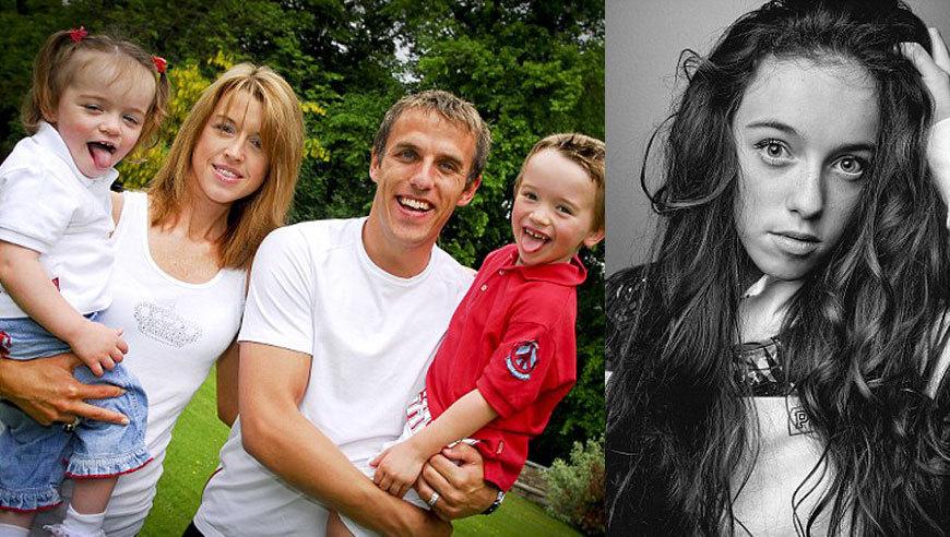 内维尔残疾女儿成模特 坚强梦想与爱使她成功