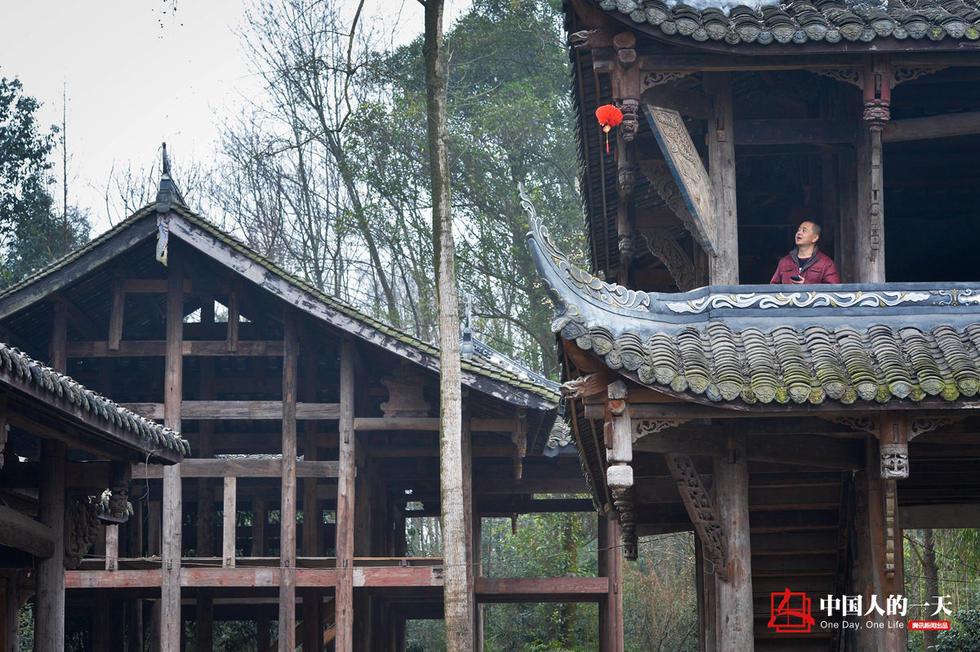 中国人的一天:10年间他一砖一瓦拼出8栋老宅2017.2.27 - fpdlgswmx - fpdlgswmx的博客