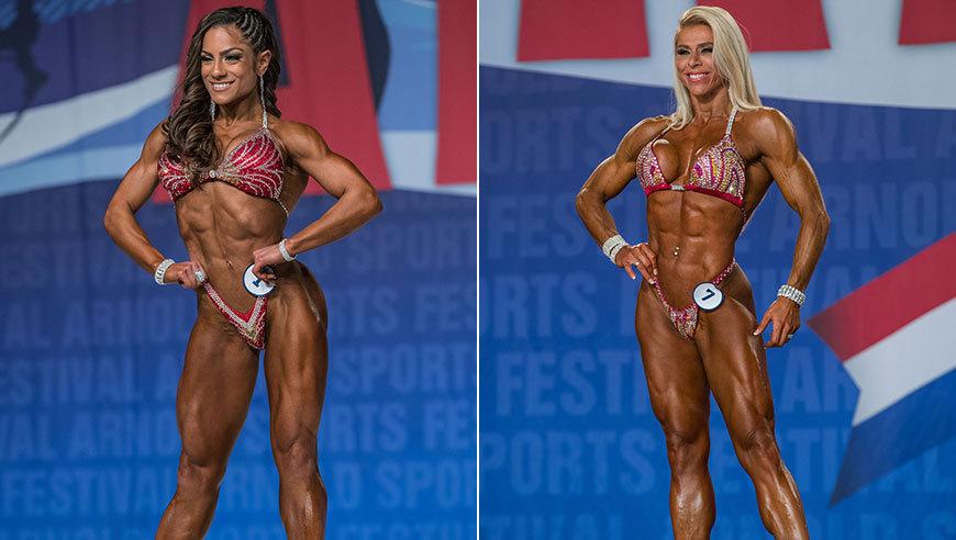 健美肌肉女写真_美国传统健美大赛落幕 筋肉猛女展示肌肉美学