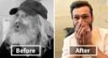 看天下:露宿街头25年的流浪汉进了理发店之后