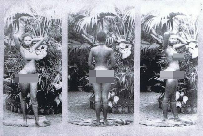 """欧美黑历史""""人类动物园"""":被逼裸体展示 - 海阔山遥 - ."""