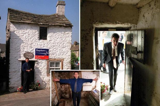 英国最小的独立式房子:只有11平米 挤着8个人