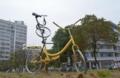 """好创意 温州大学生将废旧自行车变成""""校园乐队"""""""