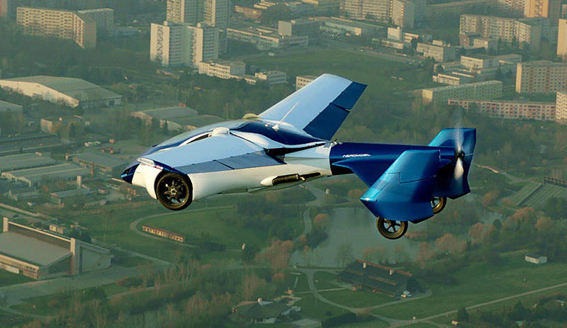 The flying car has the fastest speed of 200 kilometers per hour this year