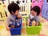 林志颖晒双胞胎儿子萌照 小哥俩互动超有爱