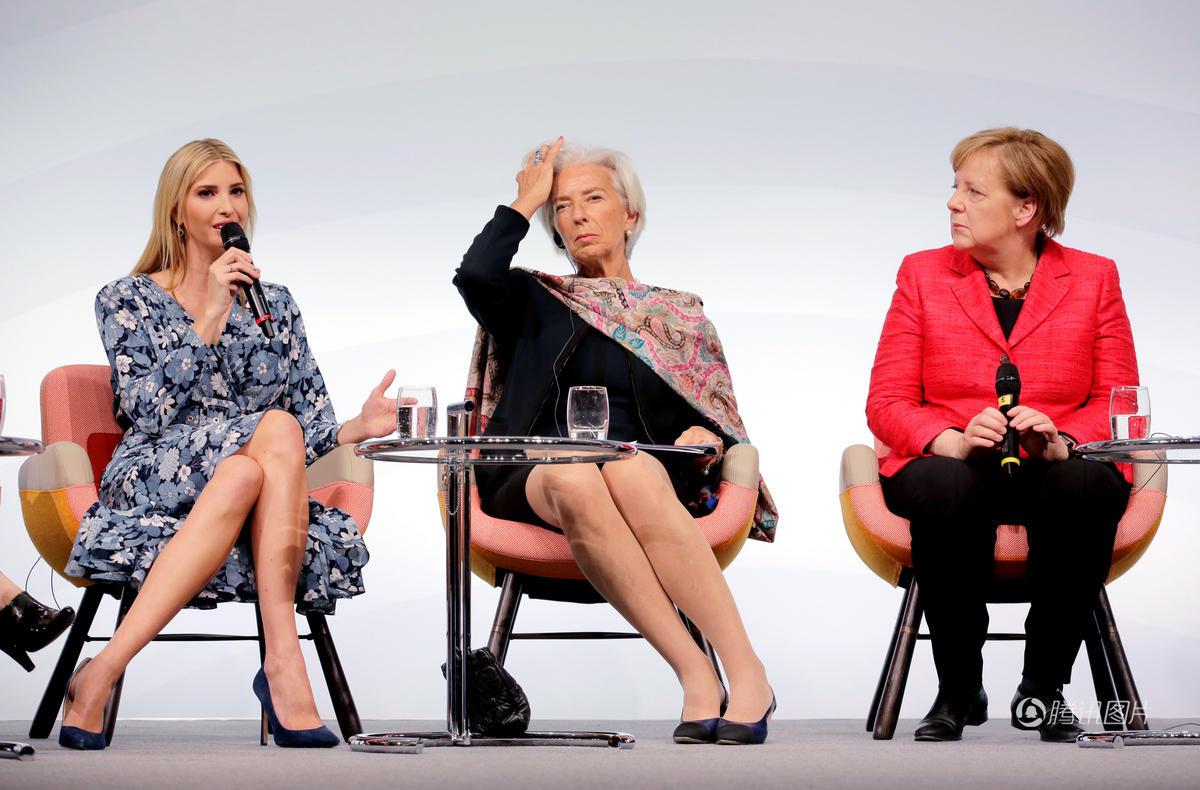 特朗普女儿访问德国 与多国政要同台演讲