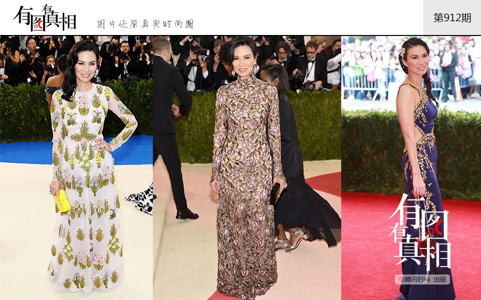 met ball上的中国身影 刘雯连续八年走红毯每一次都很美 视觉美图 图6