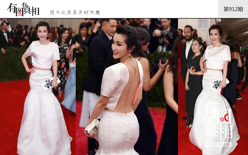 met ball上的中国身影 刘雯连续八年走红毯每一次都很美 视觉美图 图11