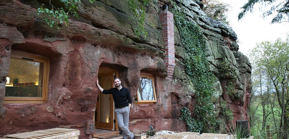 2.5亿年前的洞穴成豪宅 通水通电通wifi(组图)