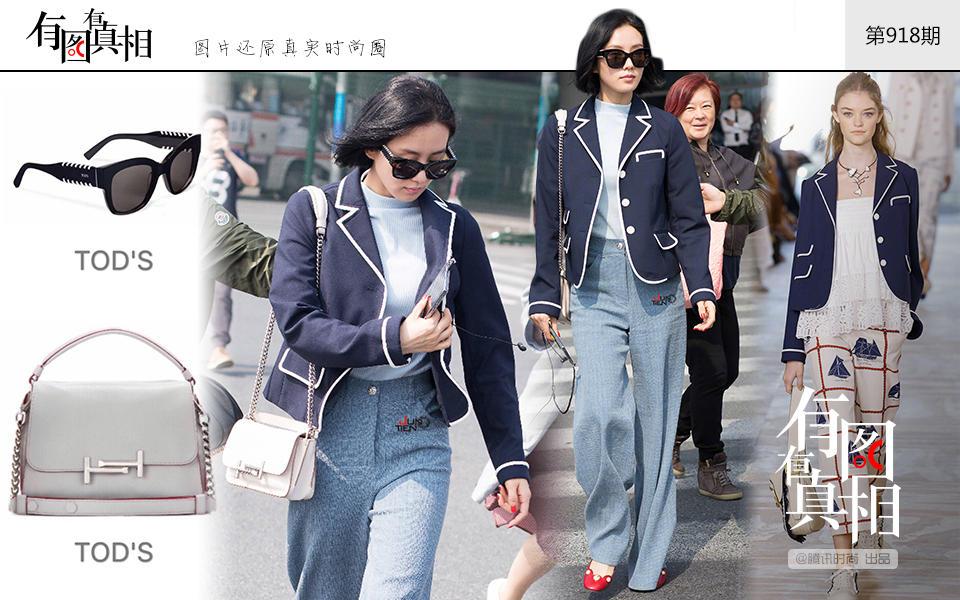 最近的刘诗诗美得不像话 帅气甜美随意切换 时尚潮流 第6张