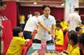超萌 四岁棋童挑战2017全运会国际跳棋预选赛