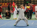 组图:匈牙利女孩获太极冠军 要用太极保家卫国
