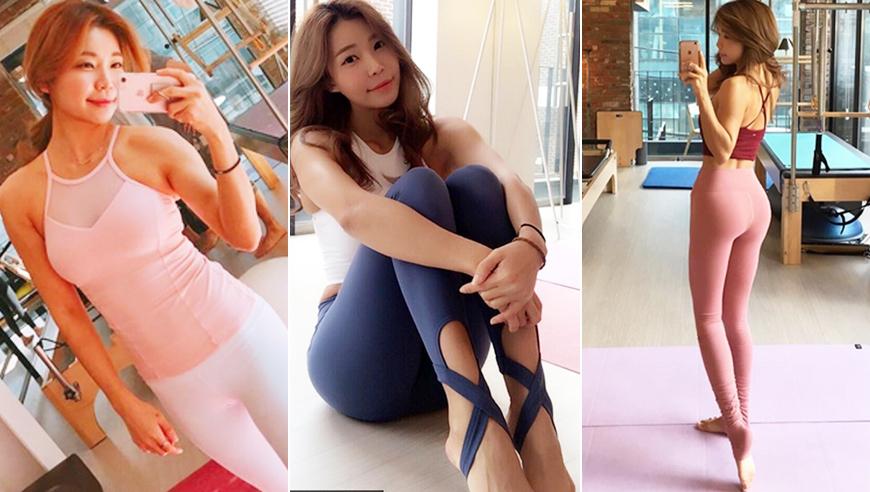 高清:韩健身嫩模紧身裤秀翘臀 网友:腿长两米