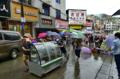 怀化市辰溪县水位猛涨 现已转移群众数万人