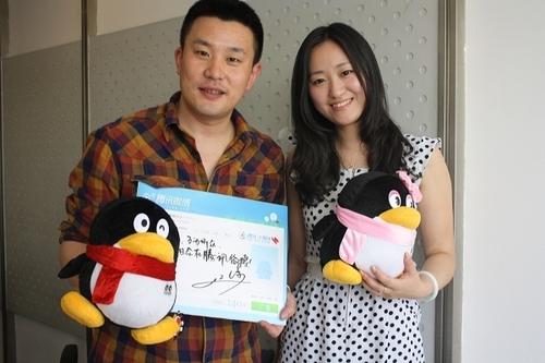 组图:江涛与大楚网友微博互动 被称 妇女之友 _