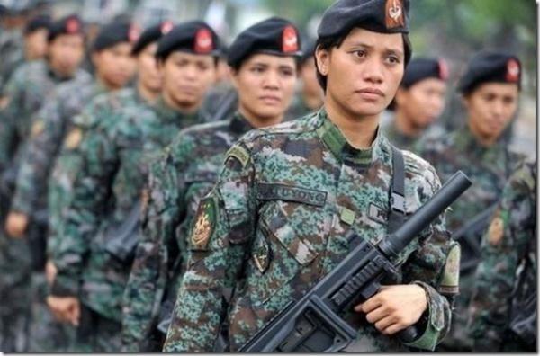 韩国警花-全球美女警花制服英姿比拼