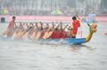 中华龙舟大赛月城站揭幕 小国家队3000米夺冠