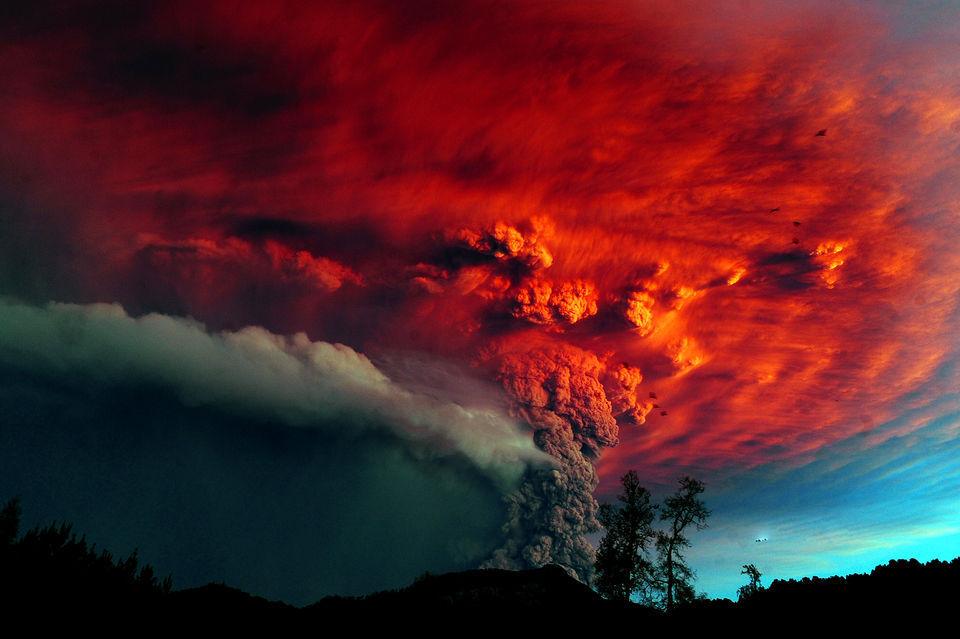 观赏智利普耶韦火山喷发的旷世奇观 - 七月雨 - 七月雨s声