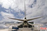 美利用波音747飞机内部空间 建成水上乐园