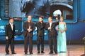 上海电视节白玉兰颁奖礼 黎明之前剧组上台领奖