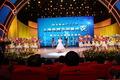 电视节白玉兰颁奖礼 蔡琴压轴献唱与众明星合影