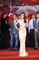 第十四届上海电影节红毯 辛亥革命剧组雨中亮相