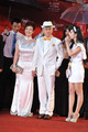 高清:第十四届上海电影节红毯 周立波携妻亮相