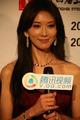 高清:14届上海电影节现场 林志玲接受腾讯专访